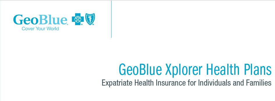 GeoBlue Xplorer Health Plans