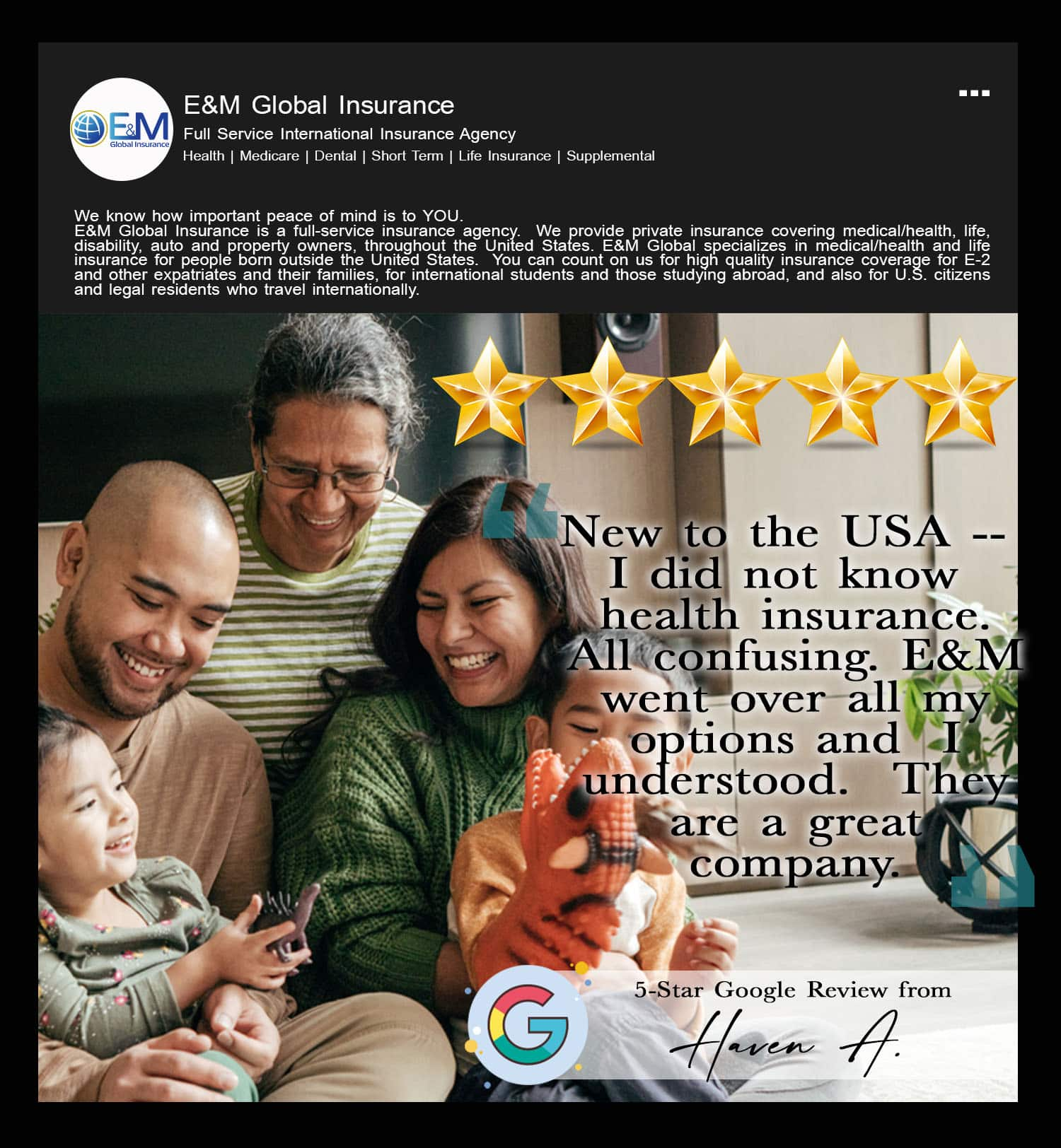 5-Star Google Reviews